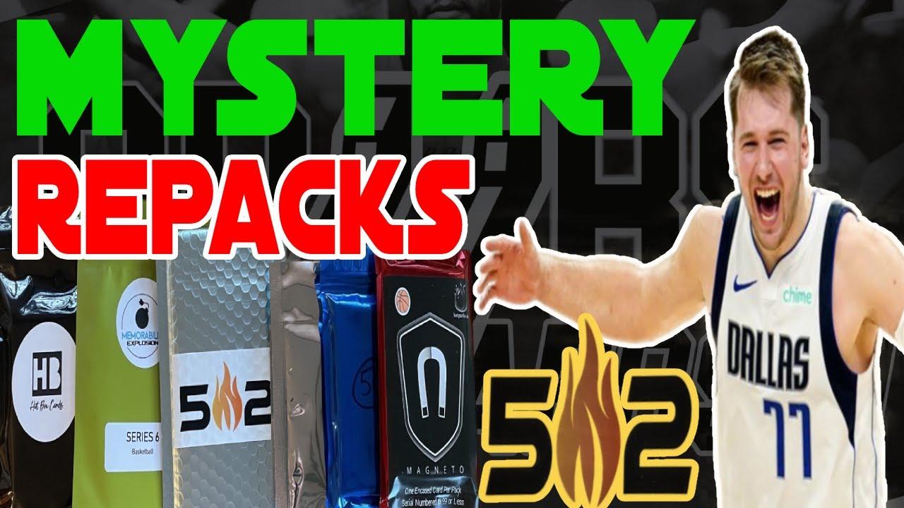 🔥 MYSTERY BASKETBALL PACKS 🔥 Random Repacks from 502Frank, Third Party Packs and EBAY! LUKA!!