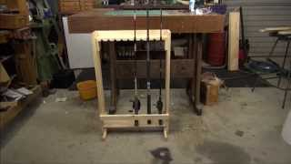 Fishing Rod Rack Pt1