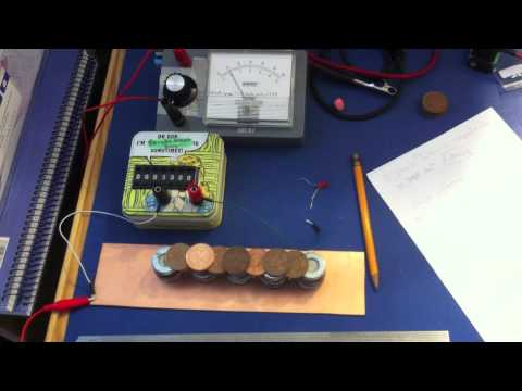 Voltaic Pile versus two AA Batteries (Part 2)