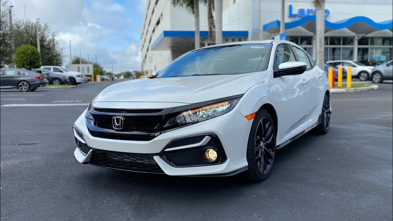 2020 Honda Civic Sport Hatchback- Affordable Hot Hatch That's Fun To Drive??
