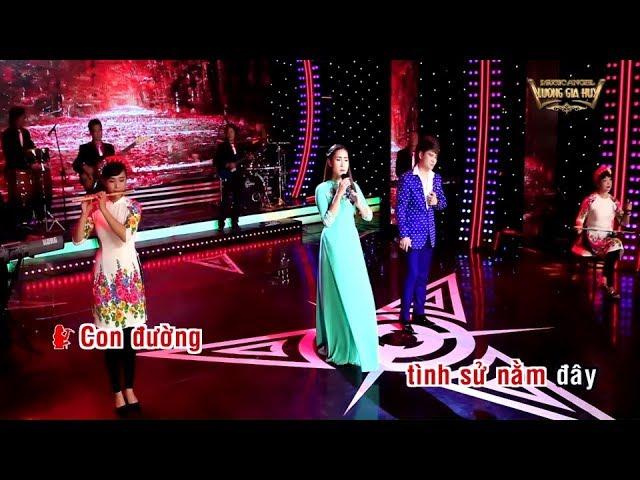 [Karaoke Beat Chuẩn] CON ĐƯỜNG MANG TÊN EM - Lương Gia Huy ft Giáng Tiên