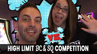 ☝️ HIGH LIMIT ROOM Competition: 🥊 Brian Christopher Vs. Slot Queen #AD
