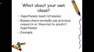Finding ideas for your research proposal