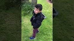 Hamza au parc de Flers