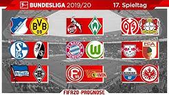 FIFA 20: Spieltag 17 (Ende der Hinrunde) Saison 2019/20 Bundesliga Prognose l Deutsch [FULL HD]