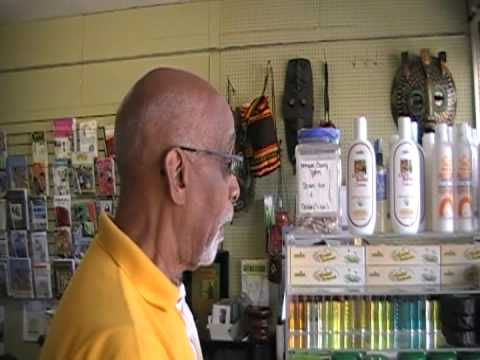 Tony Harrison At His African Book Store Located In Fort Lauderdale, Florida 2
