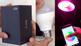 IOTA Lite Smart Bulb Unboxing And Hands On Review