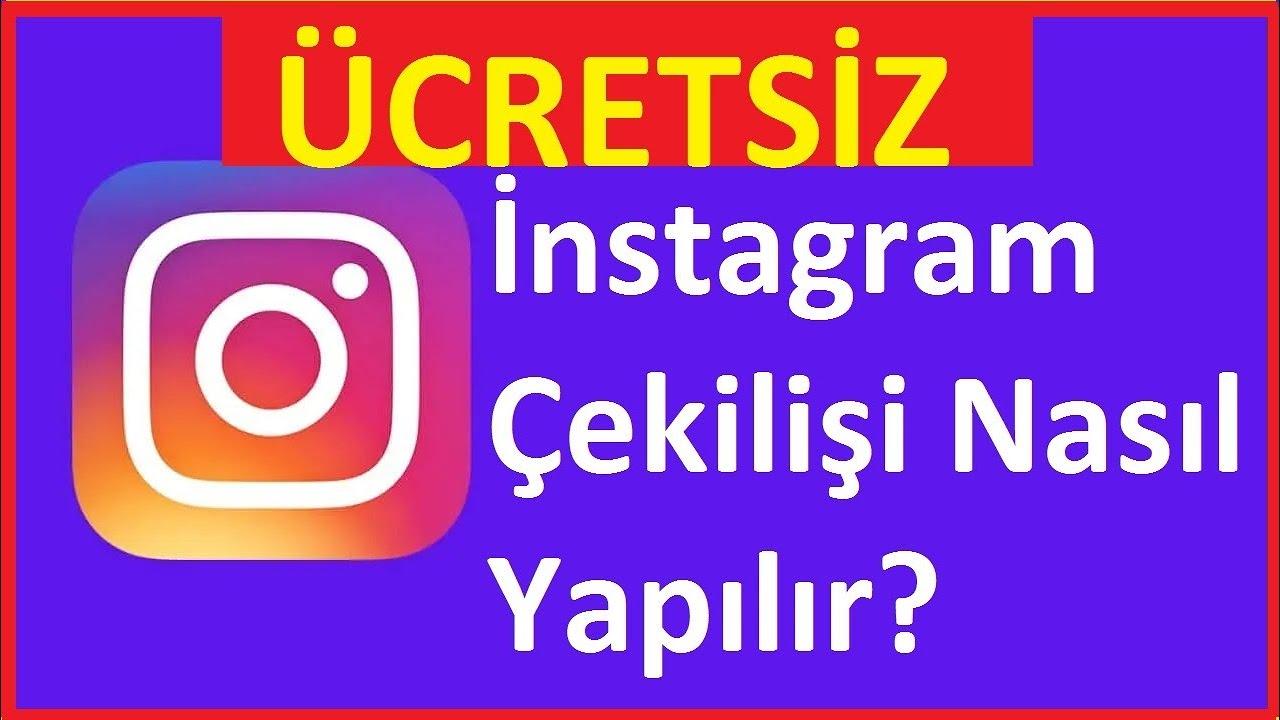 instagram çekiliş yap Instagram Cekilisi Nasil Yapilir Ucretsiz Youtube