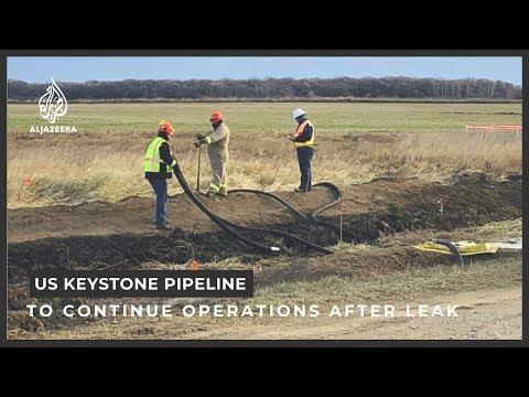 Keystone pipeline restarts in US's North Dakota after major leak