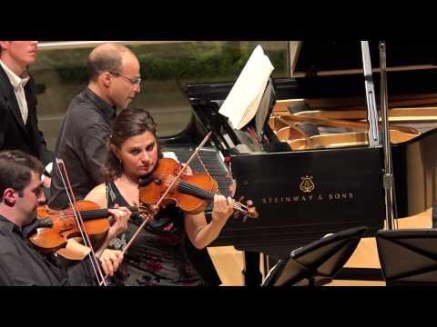 Brahms: Quintet in F minor, Op. 34, Mvt IV - ChamberFest Cleveland (2014)