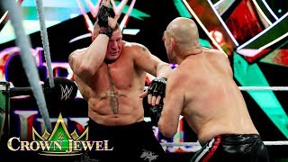 Brock Lesnar and Cain Velasquez trade blows: WWE Crown Jewel 2019 (WWE Network Exclusive)