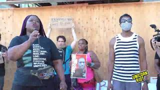 LIVE: Action at WCCO to end media bias against victims of police violence (Day 9)