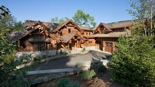 Epic Homes - Master-Crafted Log Mansion