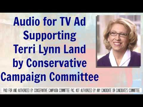 Audio for TV Ad Supporting Terri Lynn Land by CCC PAC