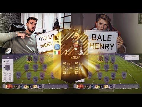 FIFA 18: INSIGNE INFORM SQUAD BUILDER BATTLE 🤑😍Fifagaming vs Wakez😱