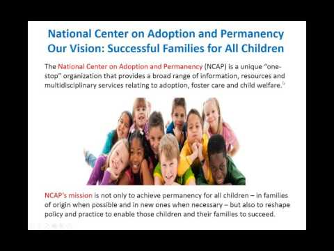 Reshaping Adoption and Child Welfare Progressing from Child Placement to Family Success