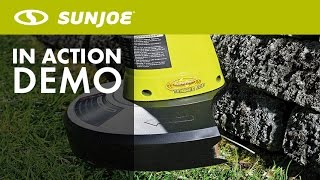 TRJ609E - Sun Joe Trimmer Joe 3-Amp 9.45-Inch Electric Grass Trimmer - Live Demo