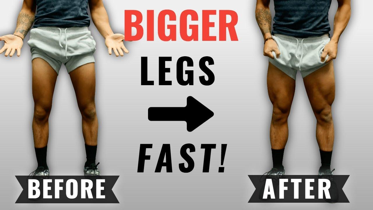 Leg Workout Tips for Bigger Legs