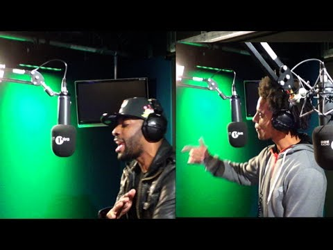 Bashy & Akala Perform live for Hip Hop Month.