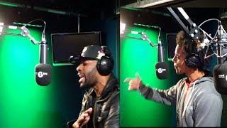 Bashy & Akala Perform live for Hip Hop Month.