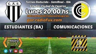Estudiantes (BA) vs. Comunicaciones en VIVO - Semifinal - Ida