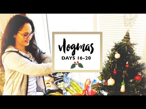 VLOGMAS 2015 | Days 16-20 ❄️ Exchange Work Party, Star Wars, Decorating Tree | Isabel Velazquez