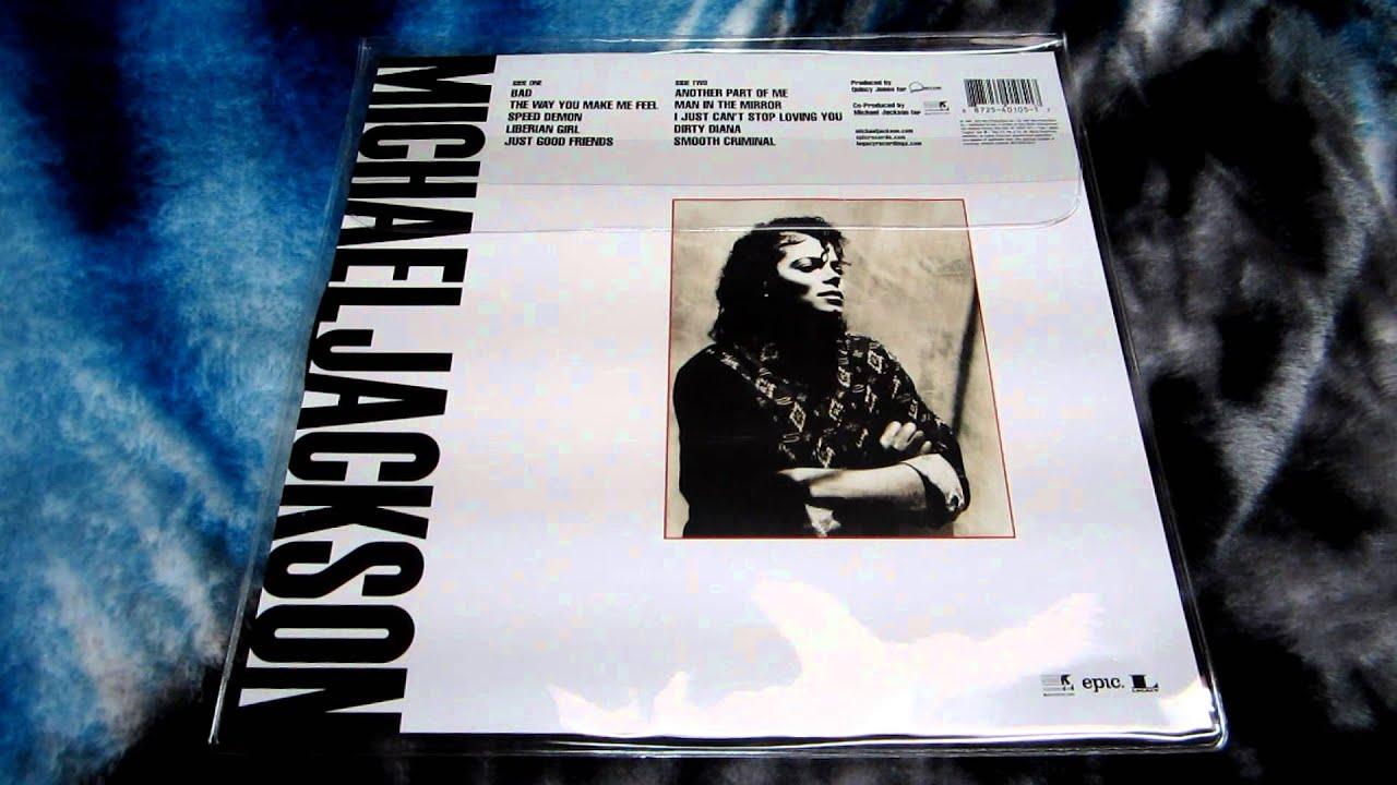 Michael Jackson Bad Picture Vinyl YouTube - Vinylboden nassraum