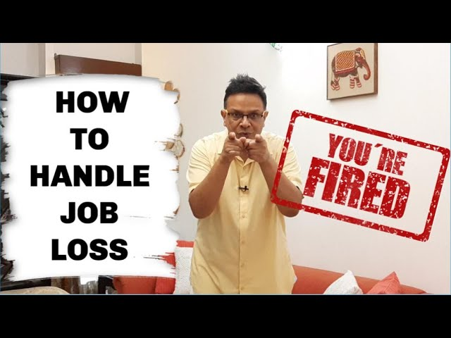 I lost my job what I did next |  How I handled being laid off from work