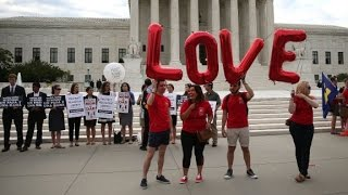 U.S. 21st country to allow same-sex marriage nationwide