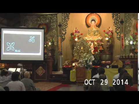 """Thầy Hằng Trường giảng pháp tại Chùa An Lạc với chủ đề """"Di Đà Sám và niệm Phật tam Muội"""""""