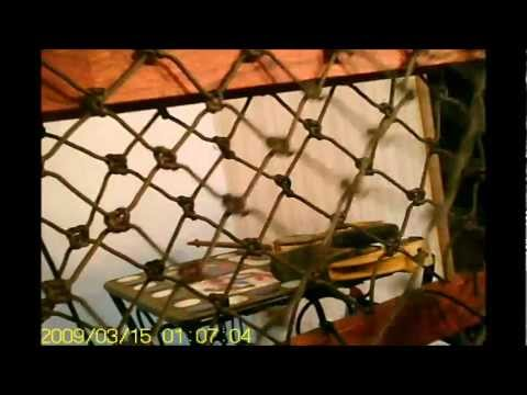Cool paracord stuff 32 knot hammock progress youtube for Cool things to do with paracord