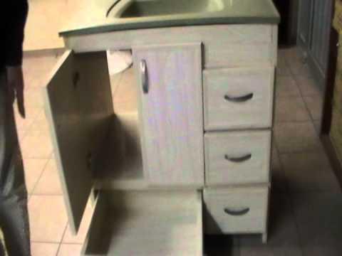 Muebles de ba o de pvc a la medida especial youtube - Muebles de bano a medida ...
