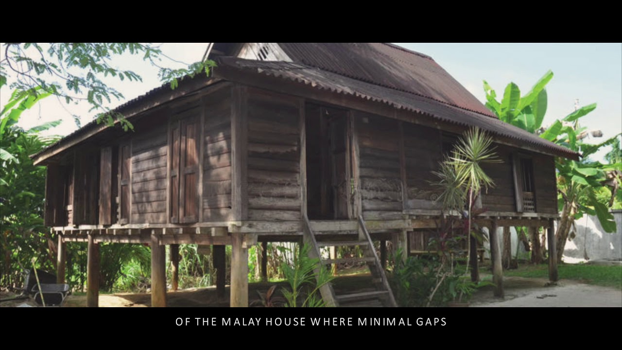 Asian Architecture P1 Case Study The Deck House Malay Vernacular Architecture