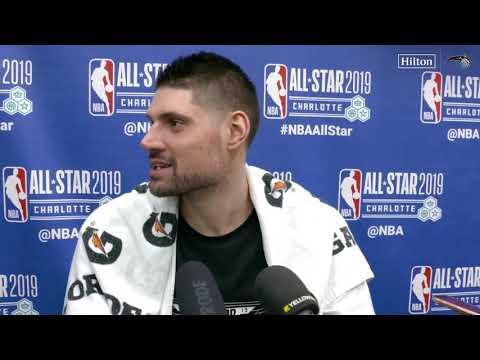 Nikola Vucevic 2019 NBA All-Star Post Game Interview ORLANDO MAGIC