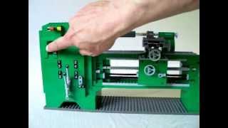 Lego-Technik Drehbank