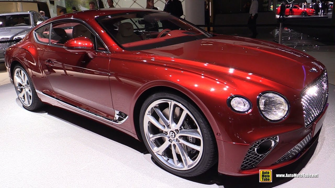 2018 bentley sports car. wonderful bentley 2018 bentley continental gt  exterior and interior walkaround debut at  2017 frankfurt auto show inside bentley sports car u