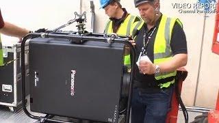 Panasonic's 20,000-lumen projectors shone bright at London 2012 (Part 2/3)