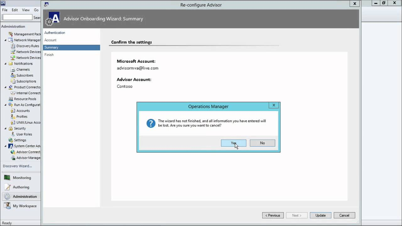 What are the advantages and disadvantages to Microsoft System Center Operations Manager?