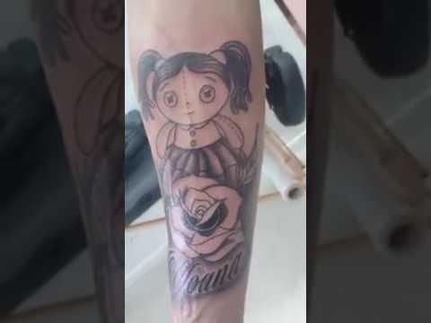 Tatuaje Muñeca De Trapo Youtube