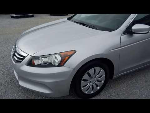 2011 Silver Honda Accord Sedan