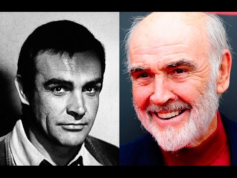 Thomas Sean Connery young and now