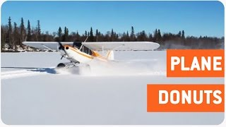 Insane Plane Landing In Snow | Frosted Donuts