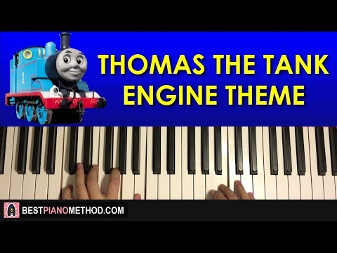 HOW TO PLAY - Thomas The Tank Engine - Theme Song (Piano Tutorial Lesson)