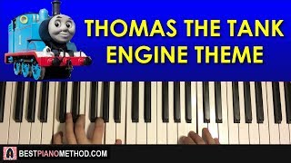 HOW TO PLAY Thomas The Tank Engine Theme Song Piano Tutorial Lesson