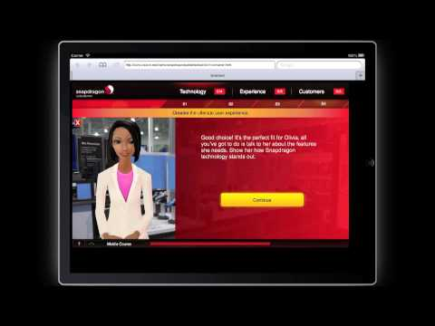 Qualcomm Sales Training - iPad Version