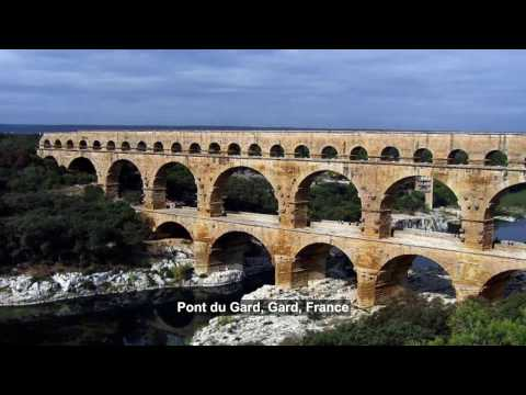 Most famous Beautiful Ancient Roman Aqueducts in the World