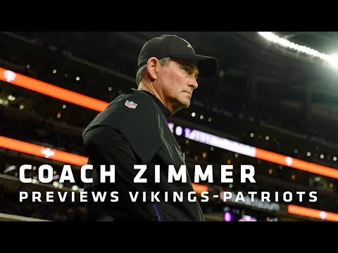 Mike Zimmer on The Need To Be Physical, Tom Brady's Strengths, Spreading The Ball On Offense