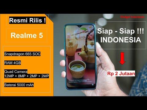 Resmi Rilis ! Realme 5 Indonesia , Ini Spesifikasi Lengkapnya.