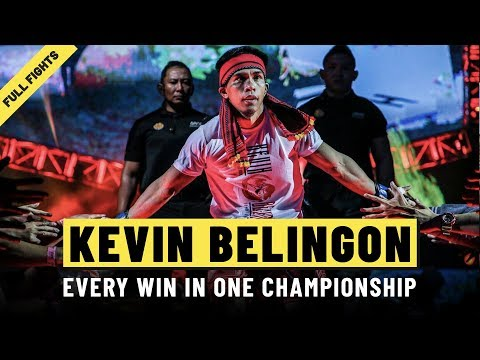 ONE: Full Fights | Kevin Belingon's Every Win