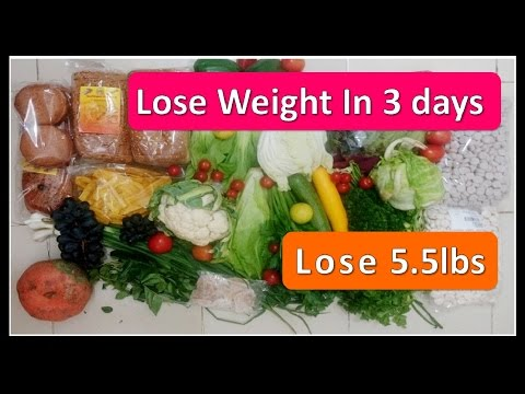 Magical Weight loss Diet plan | Lose 5.5 Lbs in just 3 days | NO EXERCISE | questions Answered